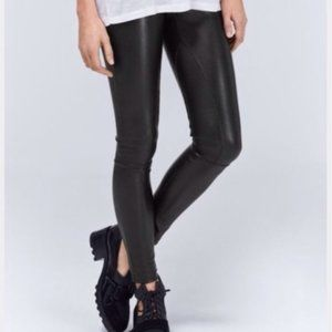 Wilfred Rebelle Vegan leather leggings size XS